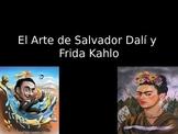 Spanish Art Lesson- Dali y Kahlo
