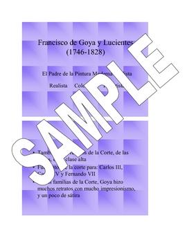 Spanish Art Presentation - Goya