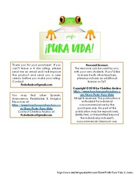 Spanish Art Vocabulary, Phrases, Movements