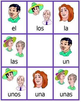 Spanish Articles