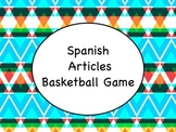 Spanish Articles Game with PowerPoint Slideshow and Instructions