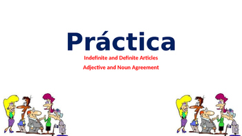 Spanish Articles and Adjective Agreement Review
