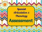 Spanish Articulation and Phonology Assessment - Print and