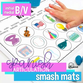 Spanish Speech Therapy Articulation B V Smash Mats