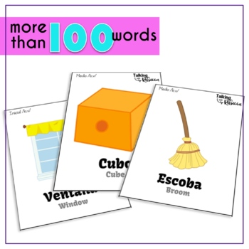 Spanish Speech Therapy Articulation B V Cards for All Word Positions