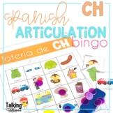 Spanish Articulation Bingo for CH words