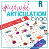 Spanish Articulation Bingo for R and RR words