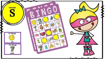Spanish Articulation Bingo: /s/; Spanish Articulation Therapy
