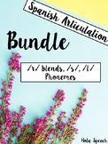 Spanish Articulation Bundle!! R Blends, S, L