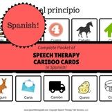 Spanish Articulation Cariboo Cards  - Complete Set