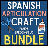 Spanish Articulation Cut and Paste Craft BUNDLE