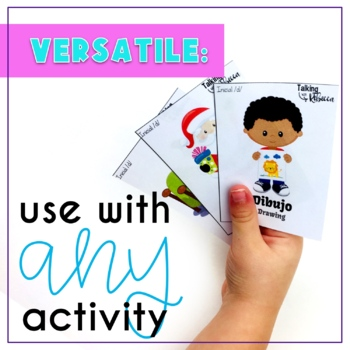 Spanish Speech Therapy Articulation D Cards for All Word Positions