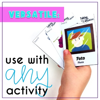 Spanish Speech Therapy Articulation F Cards for All Word Positions