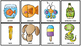 Spanish Articulation Flash Cards: P, B, M