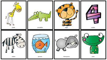 Spanish Articulation Flash Cards: s, r, l