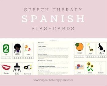Spanish Articulation Flashcards, Games, and Screener
