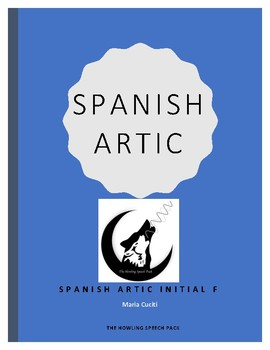 Spanish Articulation Initial F Sheet