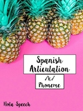 Spanish Articulation /k/ Cards