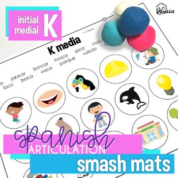 Spanish Speech Therapy Articulation K Smash Mats