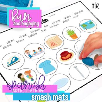 Spanish Articulation L Smash Mats