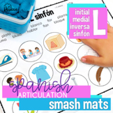 No/Low Prep Spanish Speech Therapy Articulation L Smash Mats