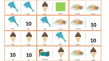 Spanish Articulation & Language Dominoes: /d/