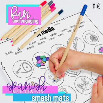 Spanish Articulation M Smash Mats