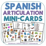 Spanish Articulation Mini-Cards