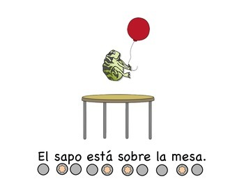 Spanish /s/ Articulation & Prepositions in Sentences with Syllable Dots