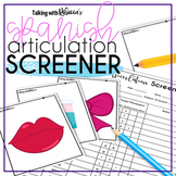 Spanish Articulation Screener for Speech Therapy