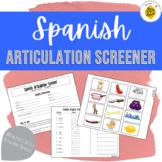 Spanish Articulation Screener!