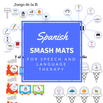 Spanish Articulation Smash Mats