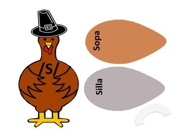 Spanish Articulation Turkeys