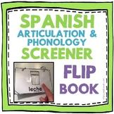 Spanish Articulation and Phonology Screener -- Flip Book!