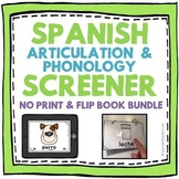 Spanish Articulation and Phonology Screener -- NO PRINT AN