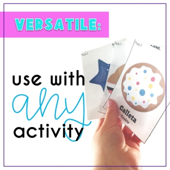 Spanish Speech Therapy Articulation ll and y Cards in All Word Positions