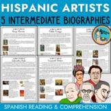 Hispanic Artist Biographies and Reading Comprehension (in