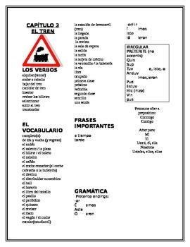 Spanish Así Se Dice Chapter 3 Vocabulary List