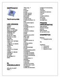 Spanish Así Se Dice Chapter 6 Vocabulary List