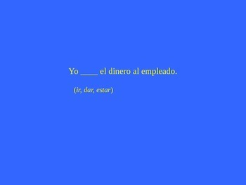 Spanish Así se dice Level 1, Chapter 3 Review Jeopardy (Powerpoint)