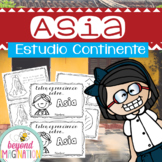 Spanish Asia Continent Booklet | 48 Pages for Differentiat