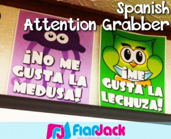 Spanish Attention Grabber II - FREE