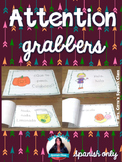 Spanish Attention Grabbers {Mini books} ESPAÑOL