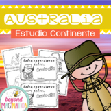 Spanish Australia Continent Booklet | 48 Pages for Differe