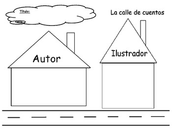 Spanish Author Illustrator Activity - Autor e ilustrador