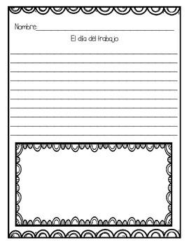 In Spanish / Autumn/Fall Writing {Mis Narraciones de Otoño}