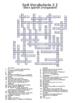 Spanish Avancemos 4 Crossword Bundle
