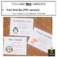 Spanish End of Year Award Certificates - Fun Theme - Novice Set