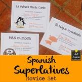 Spanish End of Year Award Certificates - Fun Theme - Novice Set