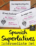 Spanish Superlatives End of Year Award Certificates - Formal Theme Intermediate